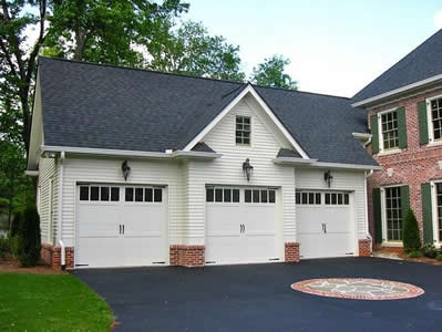 Completed Garage Addition